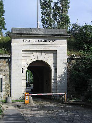 Fort de Charenton - Image: Maisons Alfort France Fort de Charenton entrée