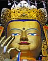Maitreya Buddha at Tashilhunpo, Tibet (cropped).jpg