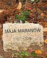 Maja Maranow gravestone.jpg
