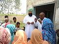 Mamu Ram Gonder at Village Bastali in Nilokheri.JPG