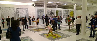 Shen Wei - Exhibition and Performance with Installations at Mana Contemporary in Jersey City 2012