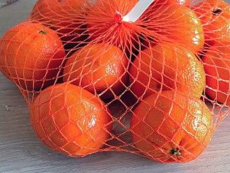 Mandarin orange - Mandarin oranges in a mesh bag