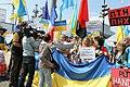 Manifestation No Mistrals For Putin Saint Nazaire 20140601 Volodymyr Tkachenko - 1.jpg