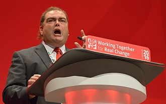 Transport Salaried Staffs' Association - Manuel Cortes, General Secretary since 2011, speaking at the 2016 Labour Party Conference