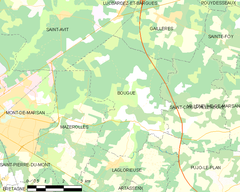 Map commune FR insee code 40051.png