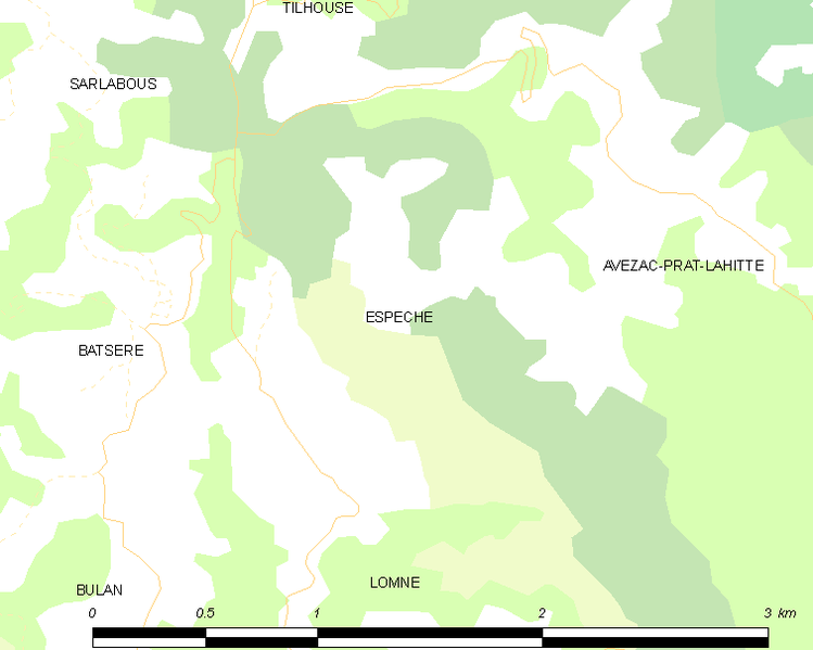File:Map commune FR insee code 65166.png