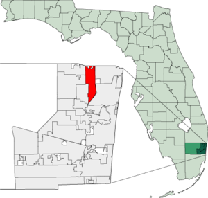 Map of Florida highlighting Coconut Creek.png