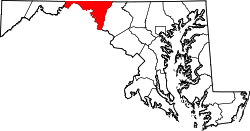 Map of Maryland highlighting Washington County.svg