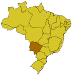 Mato Grosso do Sul in Brasilien