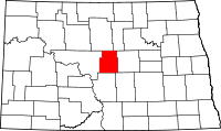 Map of North Dakota highlighting Sheridan County.svg