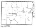 Map of Warren County, Pennsylvania No Text.png