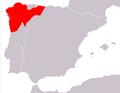 Mapa Podarcis bocagei.png