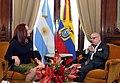 María Fernanda Espinosa y Jorge Faurie 02.jpg