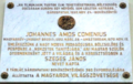 Marble plaque of Comenius.png