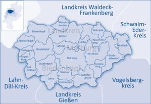 Vorlage:Imagemap Landkreis Marburg Biedenkopf – Wikipedia