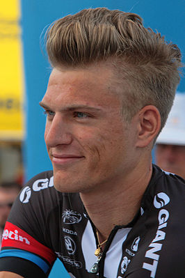Kittel tijdens de Tour Down Under 2015
