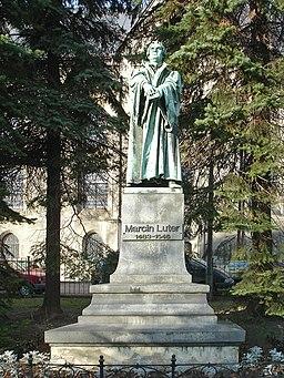 Marcin Luter pomnik