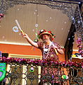 Mardi Gras Bubble man wears a dress.jpg