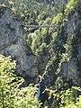 Marienbrucke from Slot Neuschwanstein - panoramio.jpg