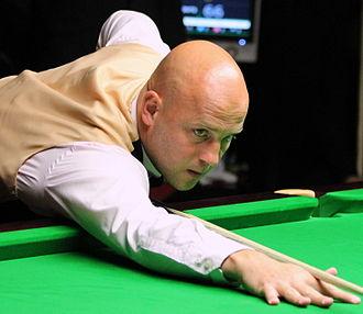 Mark King (snooker player) - King at 2012 Paul Hunter Classic