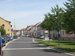 Der Marktplatz in Wurmannsquick
