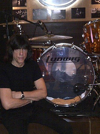 Ludwig Drums - Image: Marky Ramone Palma De Mallorca Spain