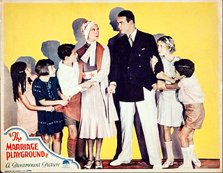 <i>The Marriage Playground</i> 1929 film by Lothar Mendes