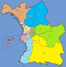 Sektoroj de Marsejlo