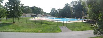 Marsh Creek State Park - The park's swimming pool is open each summer
