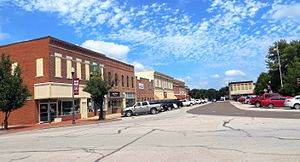 Marshall, Missouri - North Street in Marshall