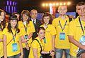 Marszałek Sejmu Grzegorz Schetyna z wolontariuszami (5828469676).jpg