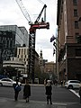 Martin Place, Sydney in 2019 showing building work.jpg