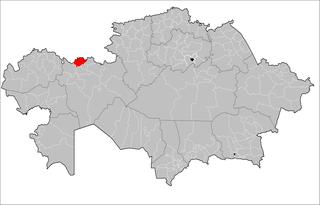 Martuk District District in Akmola Region, Kazakhstan