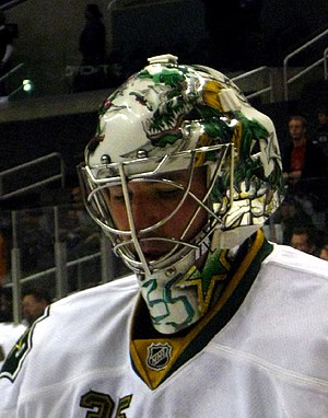 Dallas Stars - Marty Turco was awarded the starting goaltender position in the 2001–02 season, with the departure of Ed Belfour to free agency.