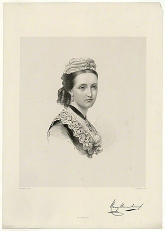 Frederick Lygon, 6th Earl Beauchamp - Lady Mary Stanhope