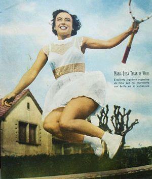 Mary Terán de Weiss - Image: Mary Terán de Weiss 1950s (El Gráfico)
