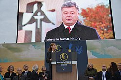 Maryna Poroshenko took part in the opening of the Memorial to Victims of Holodomor (Washington) (12).jpeg