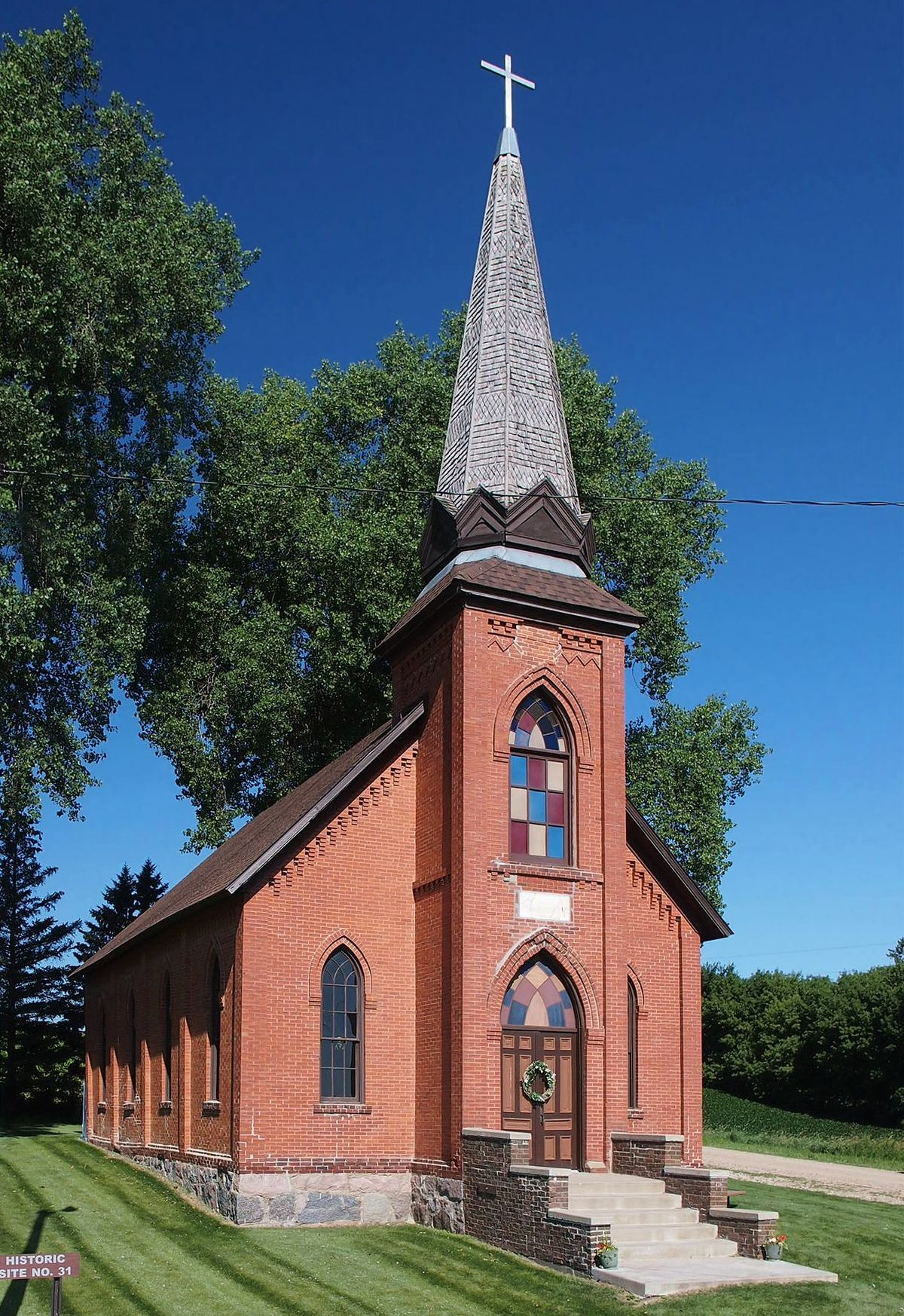 lutheran church marysville swedesburg minnesota county churches wright historic cathedral wikipedia cathedrals worship