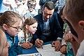Mateusz Morawiecki z dziećmi 500+ ma dwa lata Prawo i Sprawiedliwość.jpg