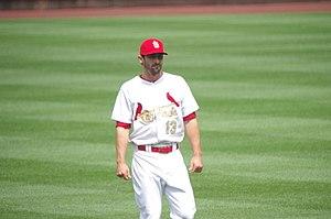 2015 St. Louis Cardinals season - Matt Carpenter was named the National League Player of the Week on April 19.