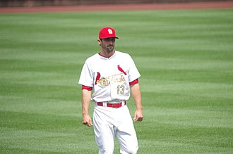 2015 St. Louis Cardinals season - Matt Carpenter was named the National League Player of the Week on April 19.
