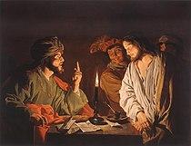 Mattias Stom, Christ before Caiaphas.jpg