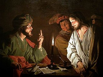Caiaphas - Christ Before Caiaphas, by Matthias Stom.
