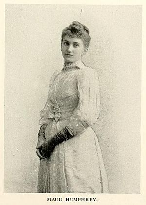 Humphrey Bogart - Maud Humphrey from American Women, 1897