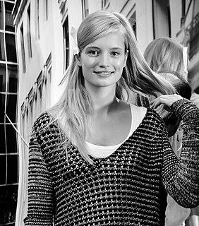 Maud Welzen Dutch fashion model