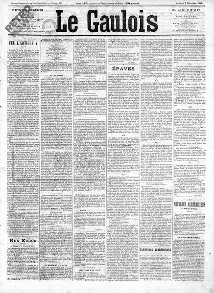 File:Maupassant - Épaves, paru dans Le Gaulois, 9 décembre 1881.djvu