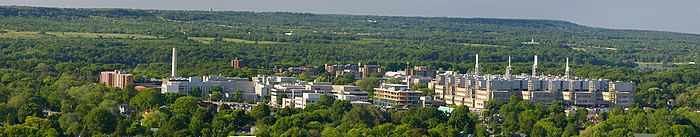 Panoramic Image of McMaster University