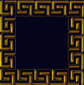 Meander square ornament gold.png