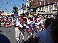 Mechanical Morris Dancers at Yarmouth Old Gaffers Festival 2011 8.JPG
