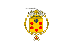 Government in exile - Image: Medici Flag of Tuscany